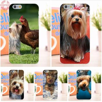 EJGROUP Yorkshire Terrier Yumuşak TPU Silikon Serin İyi Apple iPhone 6 6 S Için 4.7 inç
