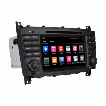 ANDROID GPS DVD Multimedya Video Oynatıcı Mercedes-Benz MB W219 W203 CLK Class W209 CLK200 CLK220 CLK240 CLK270 CLK280 CLK320