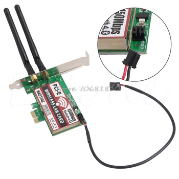 Bluetooth 4.0 Kablosuz 50 M PCI-E PCI Express Kart WIFI Ağ LAN Ethernet NIC Drop Shipping