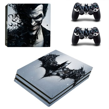 PS4 Pro Batman Cilt Sticker Kapak Sony Playstation 4 Konsolu ve Kontrolörleri