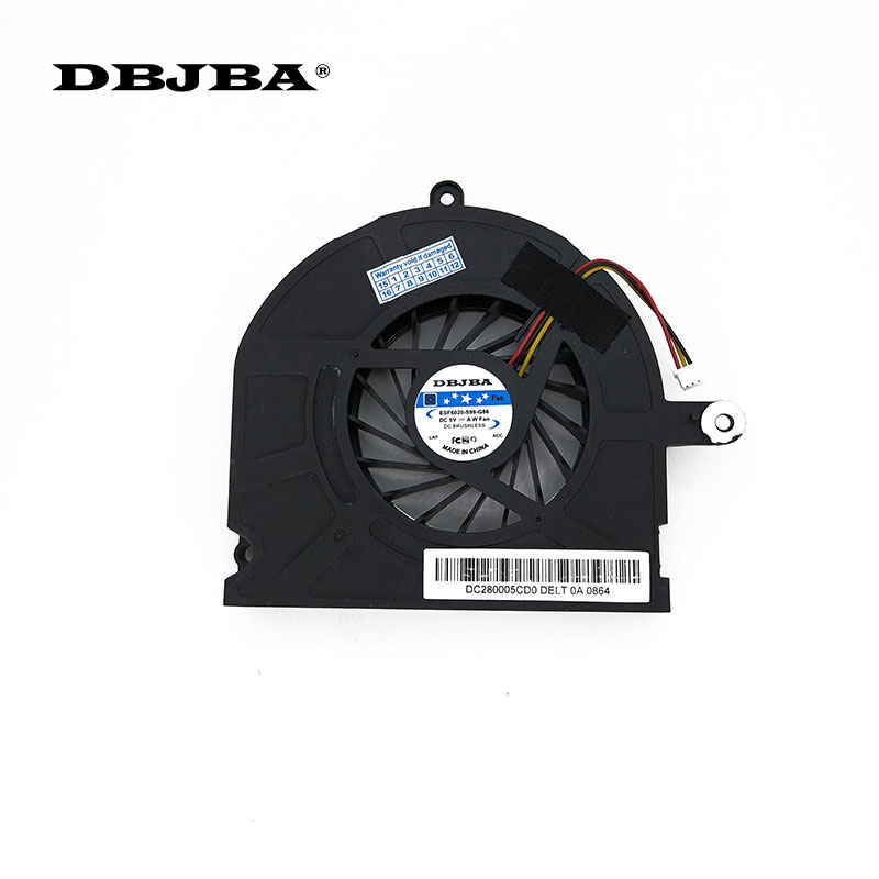 Laptop CPU Soğutma Fanı Toshiba Qosmio X300 X305 fan KB0705HA-8A83 AB0905HX-S03 (F295-HK) 3 PIN Fan